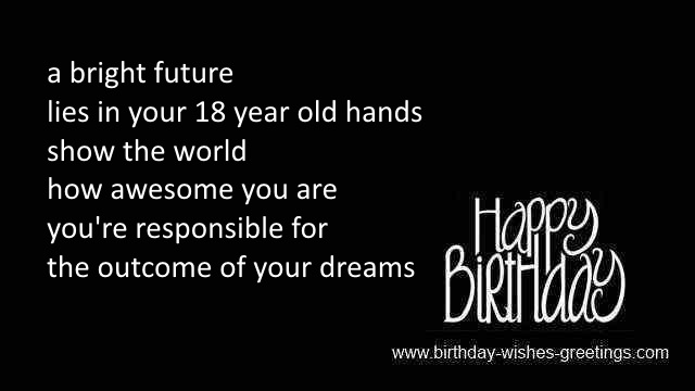 birthday poem for 18 year old daughter ; 18th-birthday-message-for-boy
