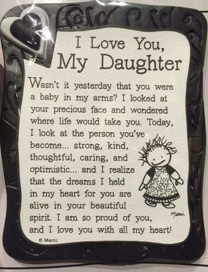 birthday poem for 18 year old daughter ; birthday-poem-for-18-year-old-daughter-5a910e6b6eee473f7dbe97eb78190657-love-my-daughter-daughter-quotes