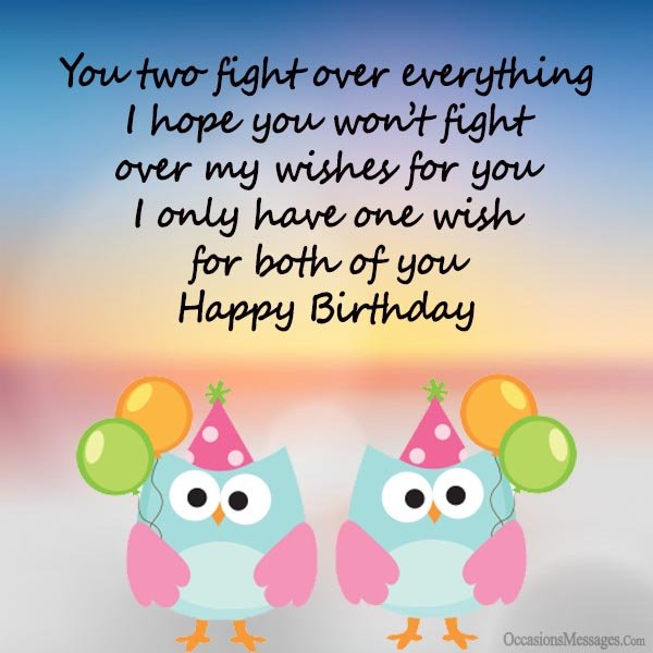 birthday poem for 7 year old daughter ; Birthday-wishes-for-twins
