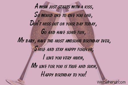 birthday poem for boyfriend far away ; amazing-lines-of-birthday-wishes