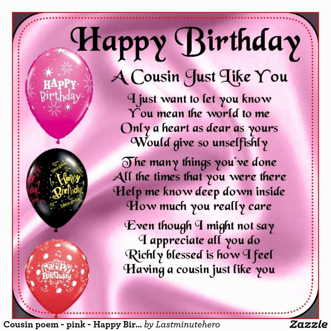 birthday poem for granddaughter free ; birthday-wish-for-daughter-luxury-happy-birthday-poems-for-my-cousin-12-of-birthday-wish-for-daughter