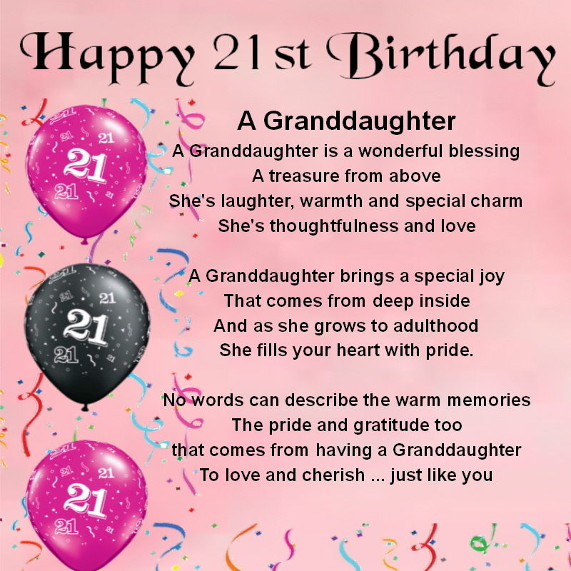 birthday poem for granddaughter free ; e5342318dac165bc3c8a6bf53919a586