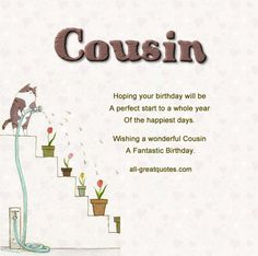 birthday poem for my cousin ; c9bee673b0a8dee77f7686bbf0d4a88a--sister-birthday-message-happy-birthday-cousin