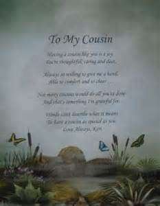 birthday poem for my cousin ; dtn_cousins_poems_cousin