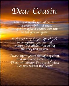 birthday poem for my cousin ; s-l300
