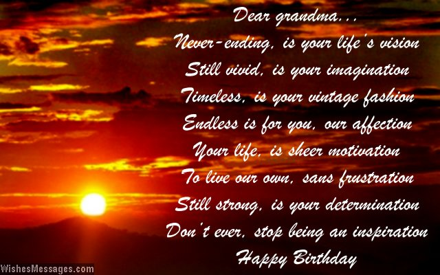 birthday poem for my grandmother ; Beautiful-birthday-greeting-card-poem-for-grandma