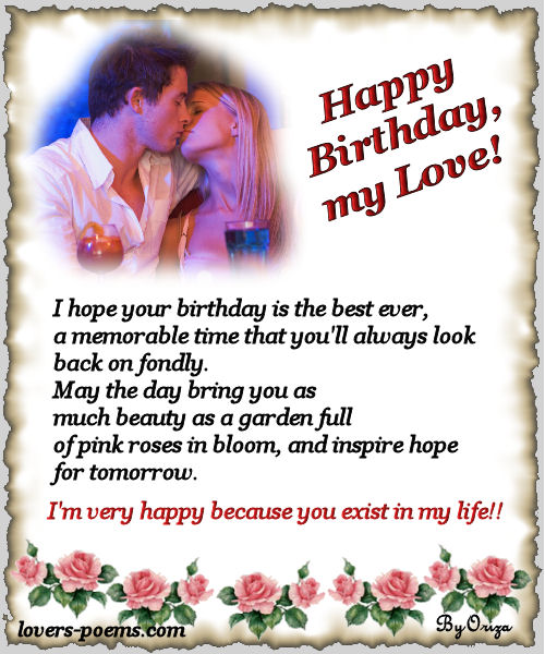 birthday poems for girlfriend card ; 2e020d24c214217668f1d0309812f3f6