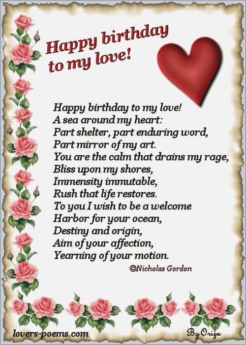 birthday poems for girlfriend card ; all-wishes-message-greeting-card-and-tex-message-birthday-of-birthday-card-to-your-girlfriend