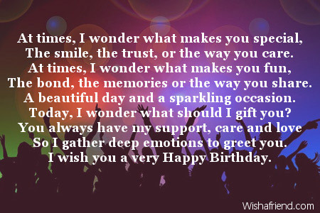 birthday poems for her ; 1977-friends-birthday-poems