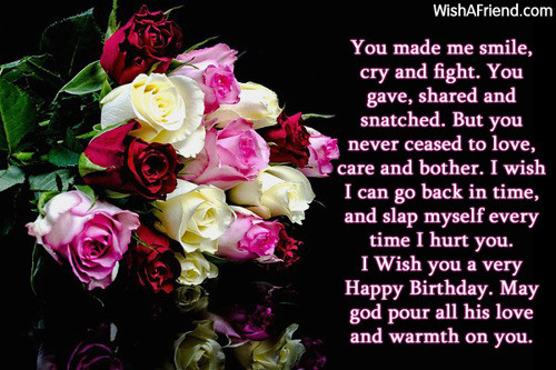 birthday prayer message for a sister ; 156-brother-birthday-wishes