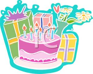 birthday presents clip art free ; Presents_Behind_a_Birthday_Cake_Royalty_Free_Clipart_Picture_091107-130923-346009