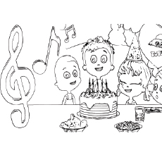 birthday printables to color ; Birthday_song