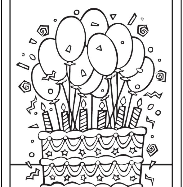birthday printables to color ; birthday-coloring-sheets-28-birthday-cake-coloring-pages-customizable-pdf-printables-colouring-pages-for-teens-590x600