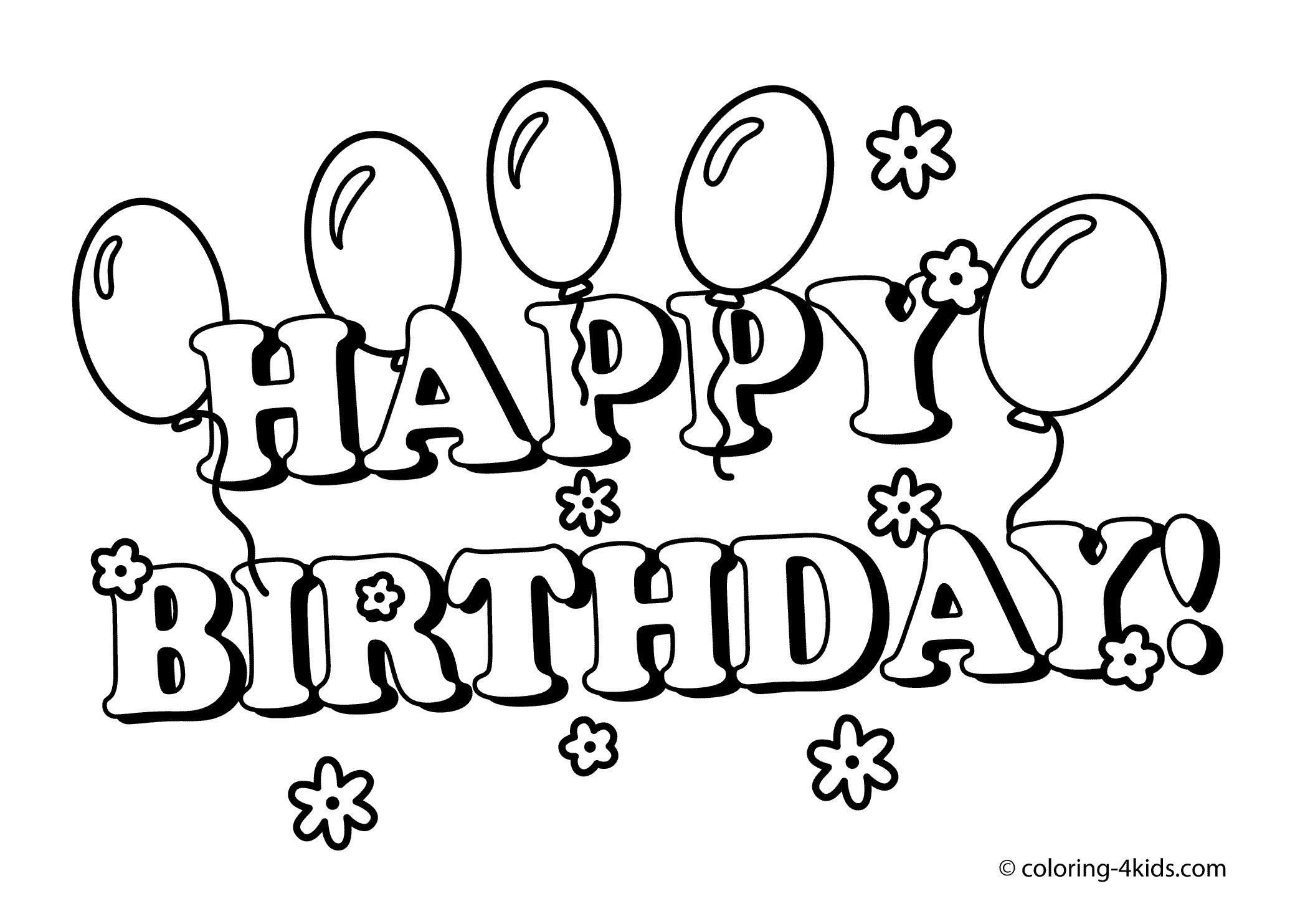 birthday printables to color ; exciting-happy-birthday-coloring-sheets-better-page-printable-pages-that-say-418