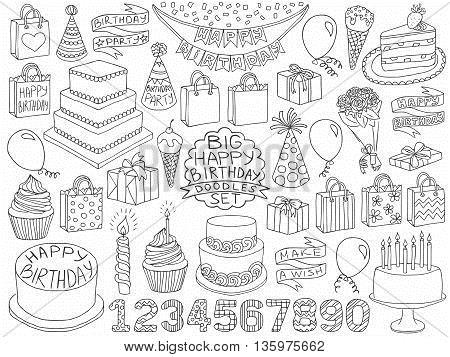 birthday sketch images ; 135975662