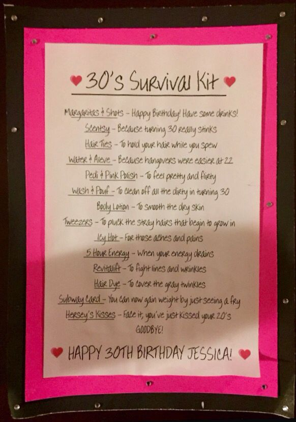 birthday survival kit poem ; 6e4b55a18cb1190a1172c6b981302072