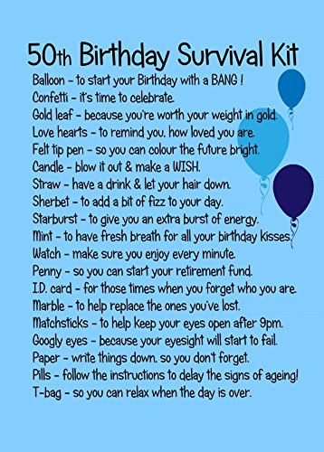 birthday survival kit poem ; c9e21c76cca92ccd6ee05167b2adea1f--th-birthday-gifts-th-birthday-survival-kit