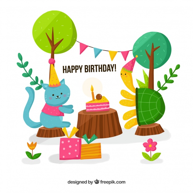 birthday turtle clip art ; happy-birthday-background-with-cat-and-turtle_23-2147660319