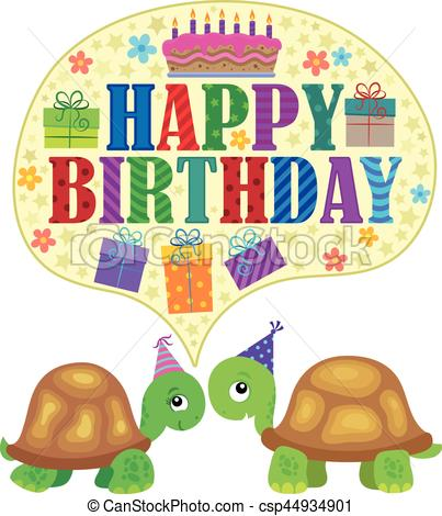 birthday turtle clip art ; happy-birthday-theme-with-turtles-1-vector-clipart_csp44934901
