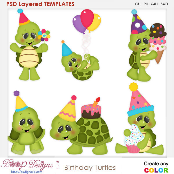 birthday turtle clip art ; kw_hbd_turtles_temps%2520