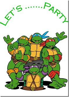birthday turtle clip art ; ninja-turtles-birthdays-clipart-1