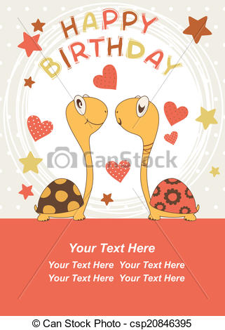 birthday turtle clip art ; turtle-birthday-drawing_csp20846395