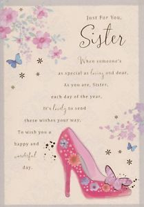 birthday verses for sister ; s-l300