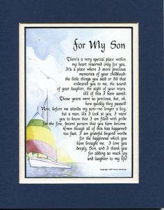 birthday verses for son ; bdb62a811ba1057b11e595a284d6fb41--poems-for-sons-son-poems