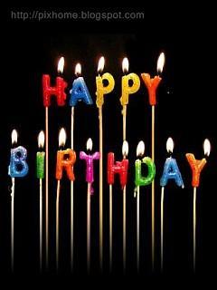 birthday wallpaper free download for mobile ; Birthday_Candles_mobile