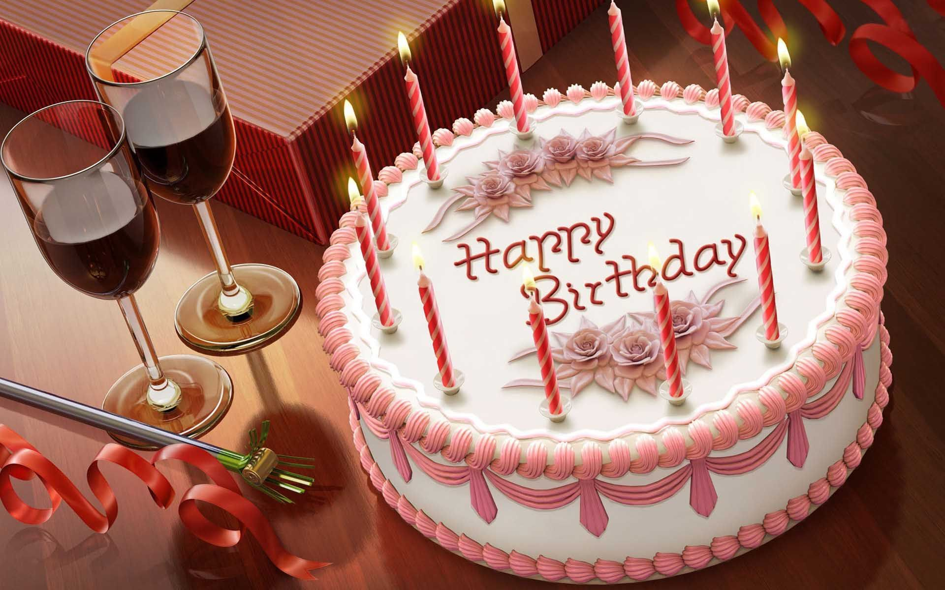 birthday wallpaper free download for mobile ; pink_butterscotch_birthday_cake