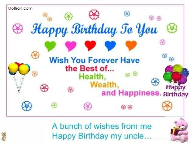 birthday wish for aunt good health ; Best-E-Card-Birthday-Wishes-For-Uncle