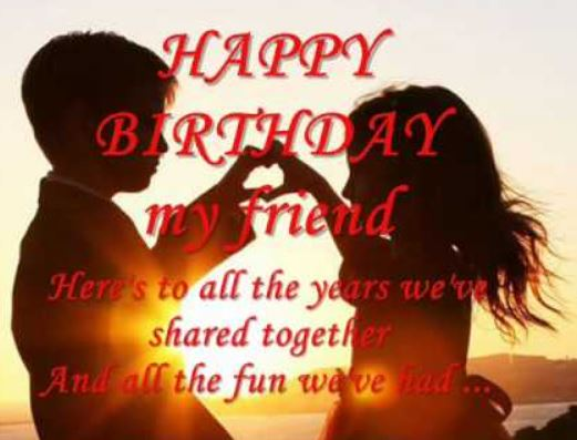 birthday wish for best friend forever in hindi ; wonderful-Funny-happy-birthday-wishes-to-best-friend-poems-with-image