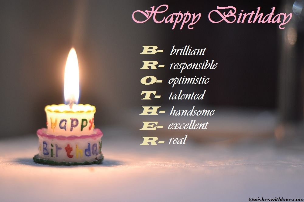 birthday wish sms for brother ; Happy-birthday-brother-wishes-quotes-massages-SMS-images-and-greetings-5