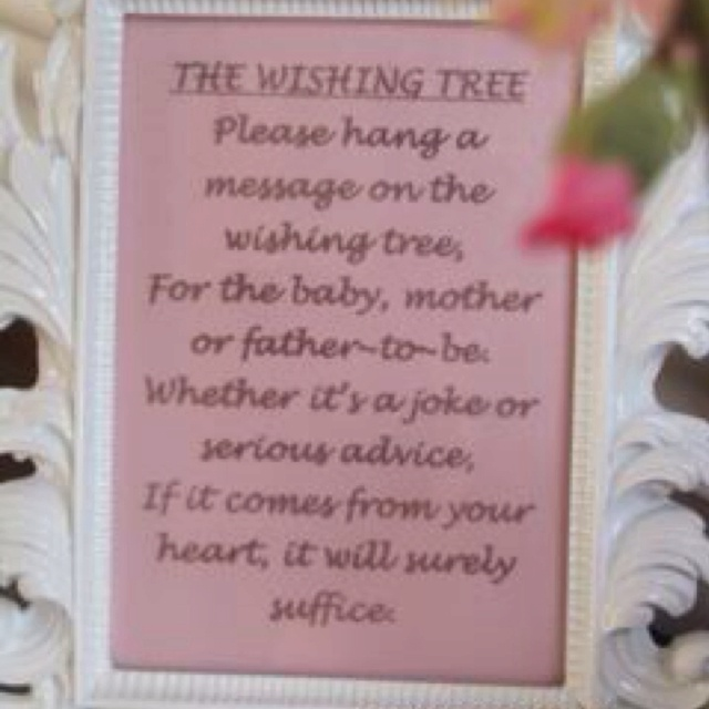 birthday wish tree wording ; a0c4f5949a50497e8cef25baf4096280--book-baby-showers-wishing-trees