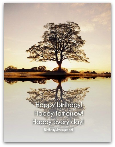 birthday wish tree wording ; birthday-wishes-12B