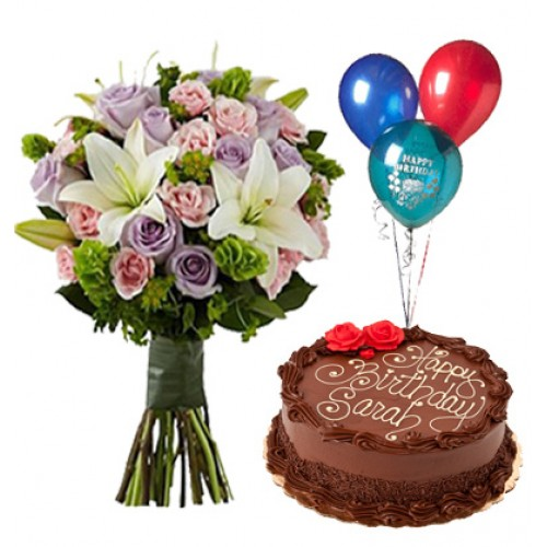birthday wish with flower images ; Birthday%2520Wishes