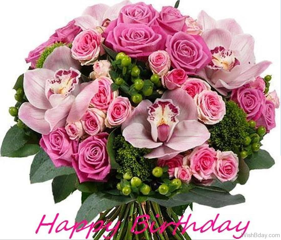 birthday wish with flower images ; Wishing-You-A-Very-Happy-Birthday-Image