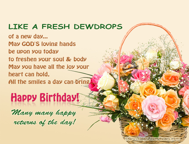birthday wish with flower images ; birthday-greetings-130