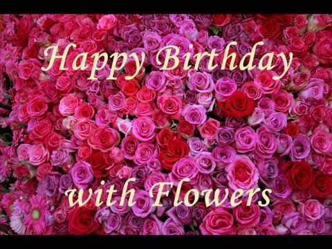 birthday wish with flower images ; hqdefault
