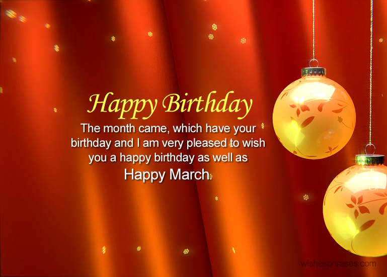birthday wishes and quotes ; march-birthday-wishes-quotes