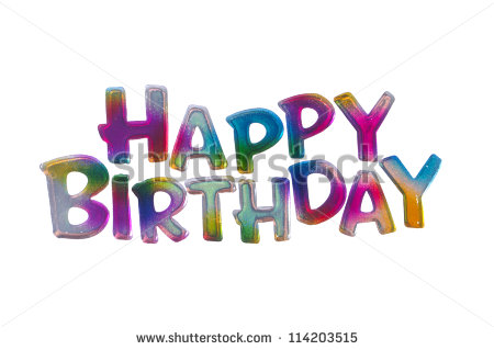 birthday words ; stock-photo-colorful-happy-birthday-words-isolated-on-white-background-114203515