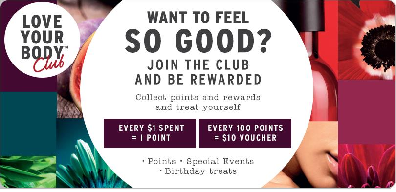 body shop card birthday ; LYBC_MemberPage