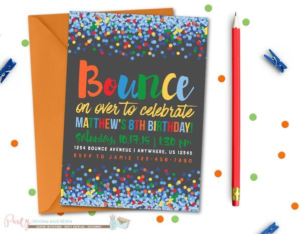 bounce house birthday party invitation wording ; 0be353af79479f6662dc96398d7bc27b--trampoline-party-trampoline-birthday
