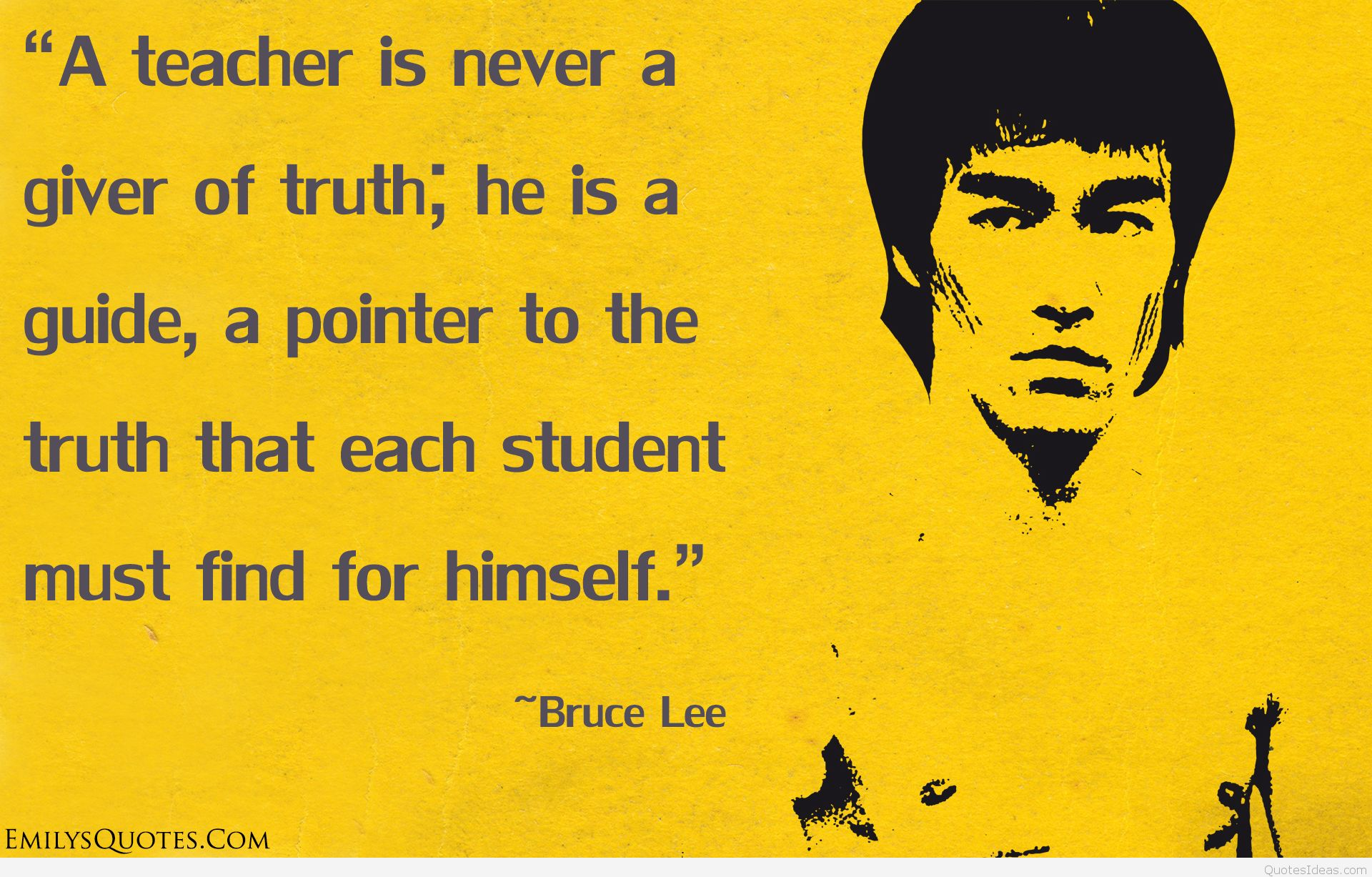 bruce lee happy birthday card ; Famous-Inspirational-Bruce-Lee-Quote