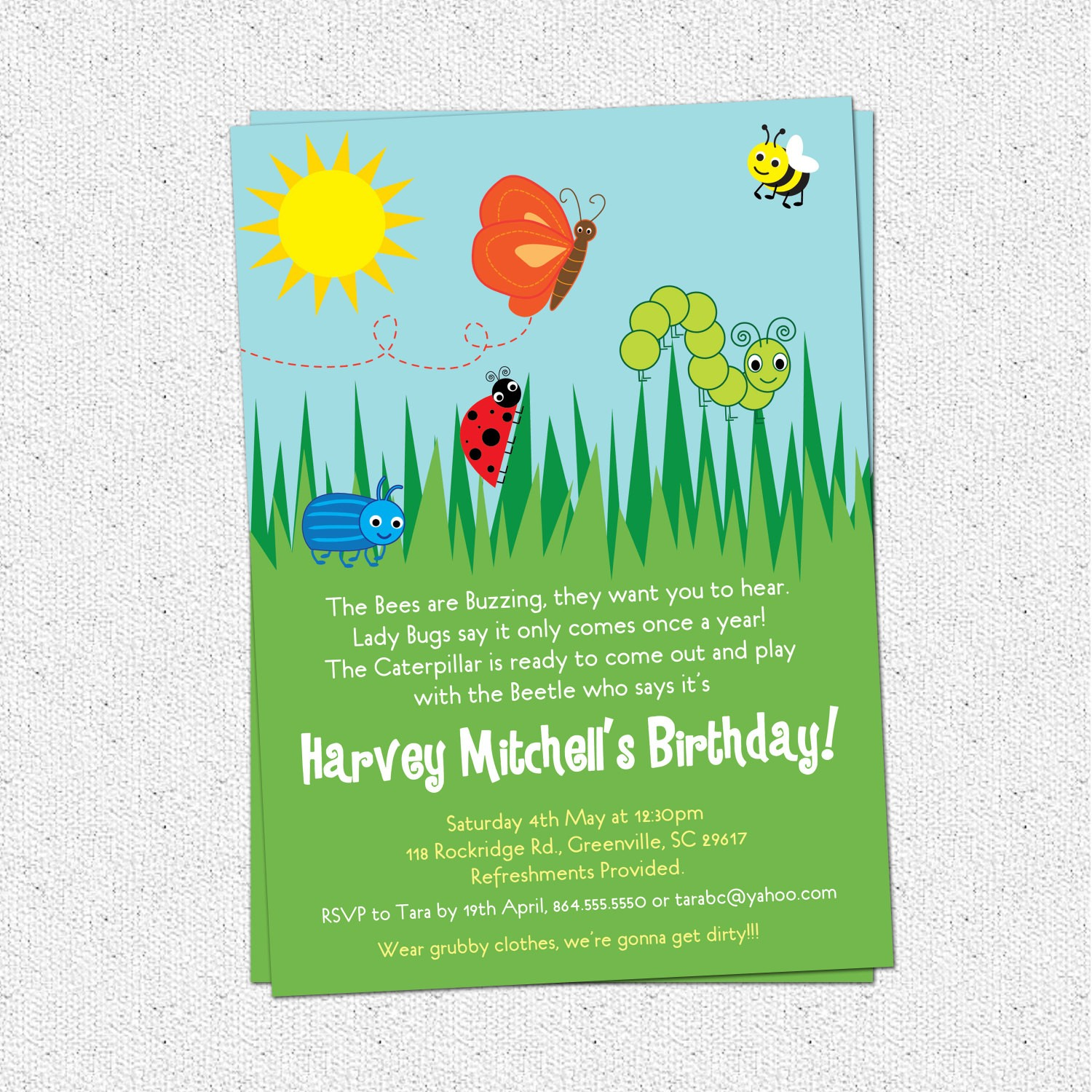 bug birthday party invitation wording ; invitation-wording-for-ladybug-party-save-bug-insects-birthday-party-invitations-summer-butterfly-bee-of-invitation-wording-for-ladybug-party