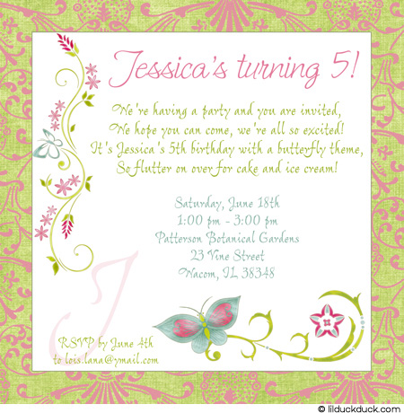 butterfly birthday invitation ideas ; 5th-birthday-invitation-wording-to-inspire-you-how-to-create-the-birthday-invitation-with-the-best-way-1