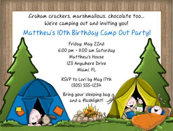 camping birthday party invitation ideas ; camping-birthday-party-invitations-and-the-invitations-of-the-Party-Invitation-Templates-to-the-party-sketch-with-cool-idea-13