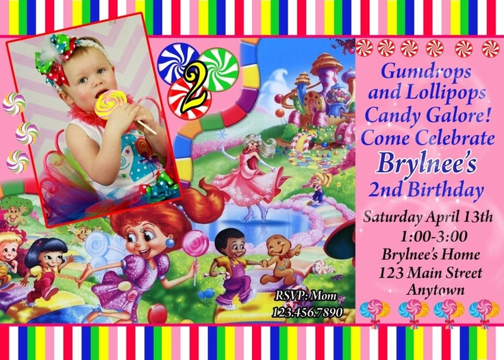 candyland birthday banners personalized ; 991618a1d74c05abc2ba550992ed3fc6--printable-thank-you-cards-printable-invitations