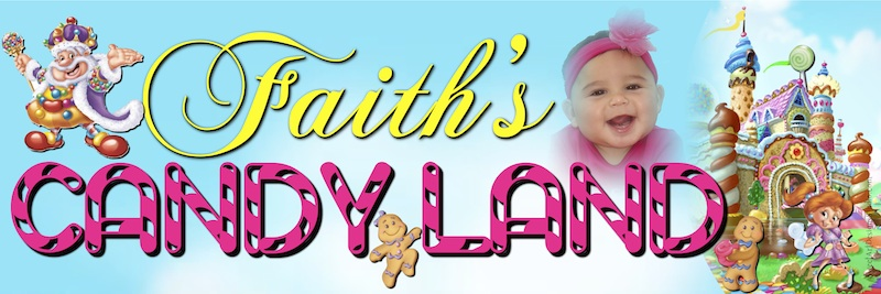 candyland birthday banners personalized ; sample-2ft-x-6ft-banner-candyland-entrance