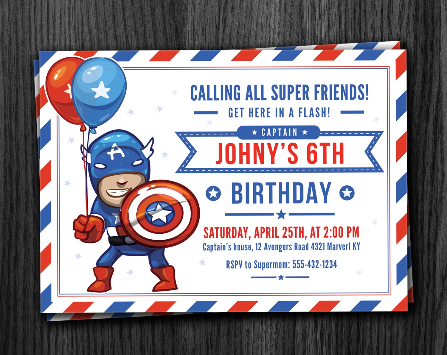 captain america birthday card template ; Cool-Captain-America-Birthday-Invitations-As-An-Extra-Ideas-About-Free-Birthday-Invitation-Templates